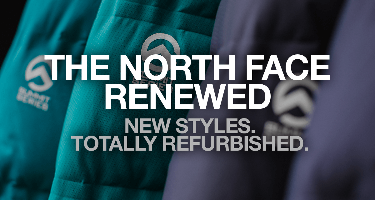 e31bf2b56 The North Face Renewed - Refurbished Clothing Made to Explore