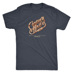 Century Hall Milwaukee vintage t-shirt men's in color vintage navy