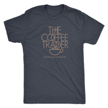 The Coffee Trader Milwaukee Vintage T-Shirt Men's in color vintage navy