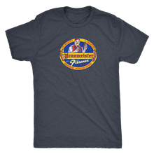 Independent Milwaukee Brewery Braumeister Pilsner vintage t-shirt men's in color vintage navy