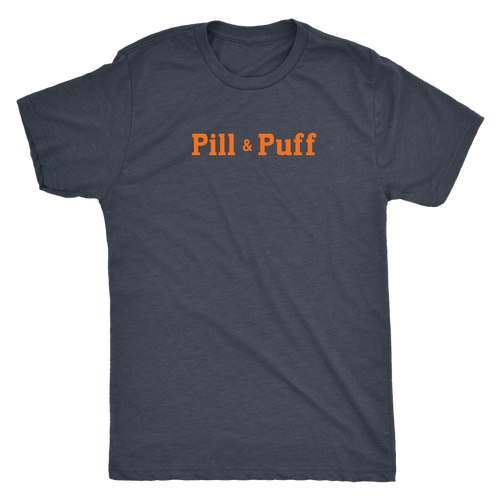 Pill & Puff Milwaukee vintage t-shirt Men's in color vintage navy