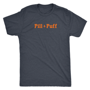 Pill & Puff Vintage Tee Men's in color vintage navy