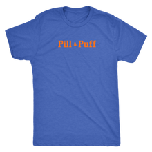 Pill & Puff Vintage Tee Men's in color vintage royal