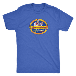 Independent Milwaukee Brewery Braumeister Pilsner Vintage Tee Men's in color vintage royal