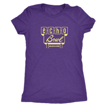 Echo Bowl Vintage Tee in Retro Yellow Women's in color vintage purple