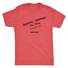 Oriental Pharmacy Lunch Counter Vintage Tee Men's in color vintage red