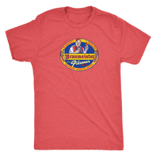 Independent Milwaukee Brewery Braumeister Pilsner Vintage Tee Men's in color vintage red