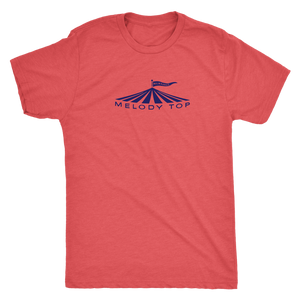 Melody Top Theatre Milwaukee Vintage T-Shirt in Special Edition Navy Men's in color vintage red