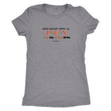 PEX Vintage Tee Women's in color vintage grey