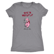 Pig 'N Whistle Vintage Tee Women's in color vintage grey