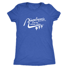 Riegelman's Downer Pharmacy Vintage Tee Women's in color vintage royal