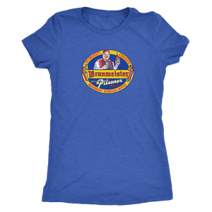 Independent Milwaukee Brewery Braumeister Pilsner Vintage Tee Women's in color vintage royal
