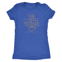 The Coffee Trader Vintage Tee Women's in color vintage royal
