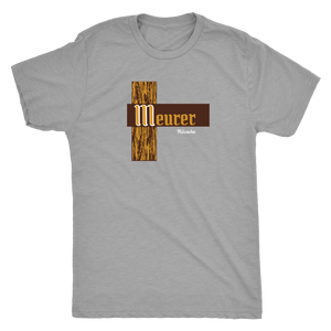 Meurer Milwaukee vintage t-shirt men's in color vintage heather grey