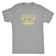 Echo Bowl Vintage Tee in Retro Yellow Men's in color vintage grey