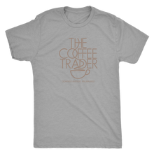The Coffee Trader Vintage Tee Men's in color vintage grey