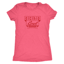 Echo Bowl Vintage Tee Women's in color light pink