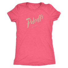 Petroff's Vintage Tee Women's in color vintage pink
