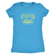 Echo Bowl Glendale Vintage Tee in Retro Yellow Women's in color vintage turquoise