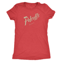 Petroff's Vintage Tee Women's in color vintage red