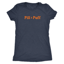 Pill & Puff Vintage Tee Women's in color vintage navy
