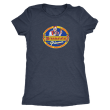 Independent Milwaukee Brewery Braumeister Pilsner Vintage Tee Women's in color vintage navy