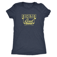Echo Bowl Vintage Tee in Retro Yellow Women's in color vintage navy