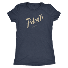 Petroff's Vintage Tee Women's in color vintage navy