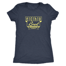 Echo Bowl Glendale Vintage Tee in Retro Yellow Women's in color vintage navy