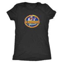 Independent Milwaukee Brewery Braumeister Pilsner Vintage Tee Women's in color vintage black