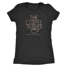 The Coffee Trader Vintage Tee Women's in color vintage black