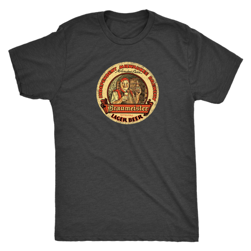 Independent Milwaukee Brewery Braumeister Lager Vintage Tee