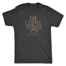 The Coffee Trader Vintage Tee Men's in color vintage black