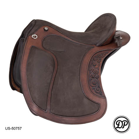 DP Saddle El Campo Decor Baroque English Saddle