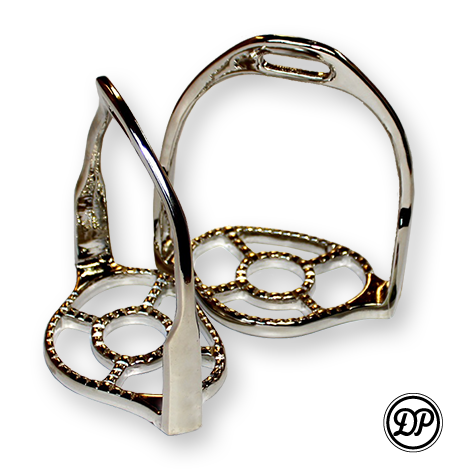DP Saddlery Baroque Stirrups