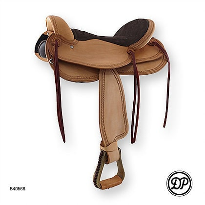 DP Saddlery Endurance Treeless Saddle
