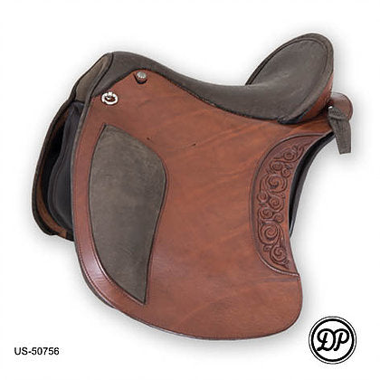 DP Saddlery El Campo Baroque Saddle