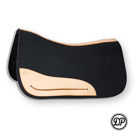 DP Wool Saddle Pad Black
