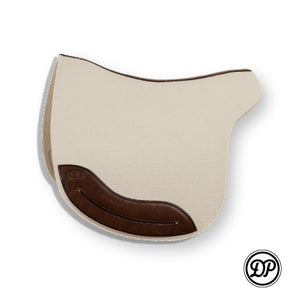 DP Wool Felt Saddle pad english white