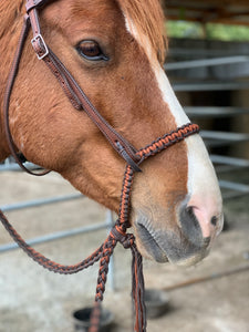 bitless braided noseband