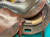 DP Saddlery Flex Fit Used Western Saddle
