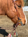 DP Saddlery Soft Feel Western Leather Contoured Headstall
