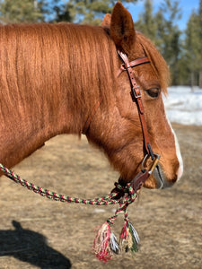 Custom Braided Rope Reins Knot Just For Horses