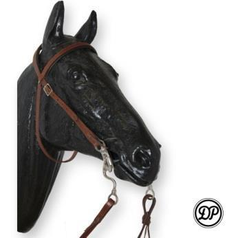 DP Saddlery Soft Feel Western Headstall