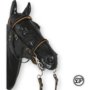 DP Soft Feel Baroque Headstall Black