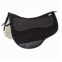 Barefoot Western Special Saddle Pad Black
