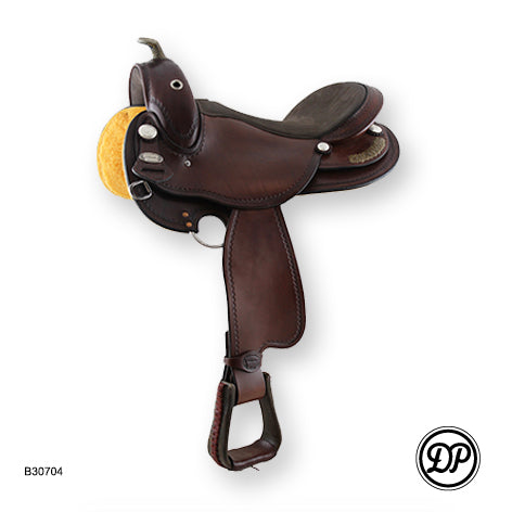 DP Saddlery Flex Fit Vario Western Saddle