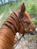 bitless riding braided reins