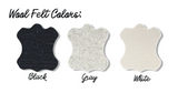 DP Wool Saddle Pad Colors