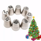 Christmas Icing Piping Kit - 15pcs